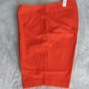 Talbot's NWT orange shorts